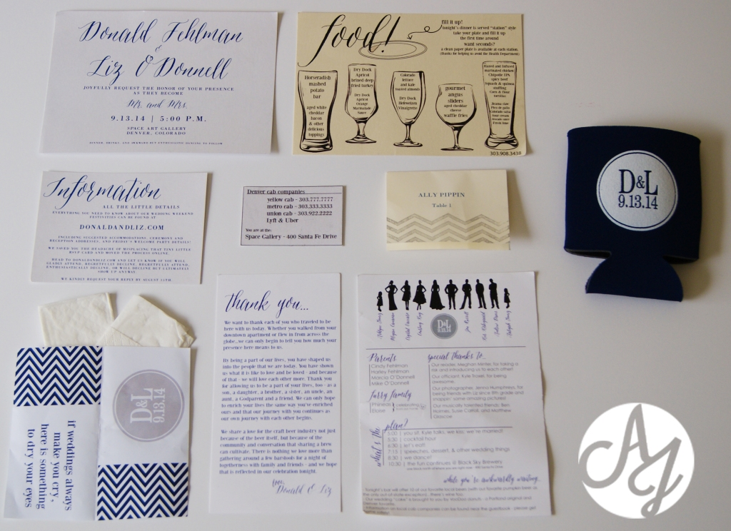 Personality on Paper: Inspiration for your Wedding Suite