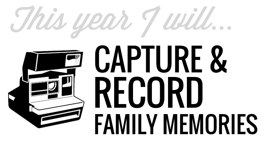 CAPTURE AND RECORD MEMORIES