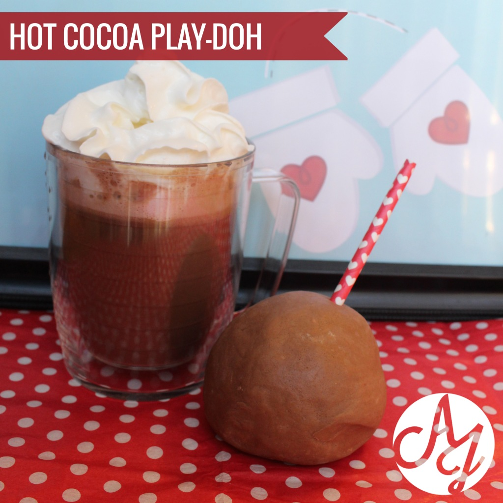 Hot Cocoa Playdoh