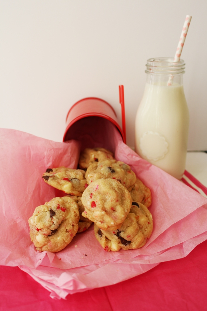 Peanut's Cake Batter Cookies on Ally Jean