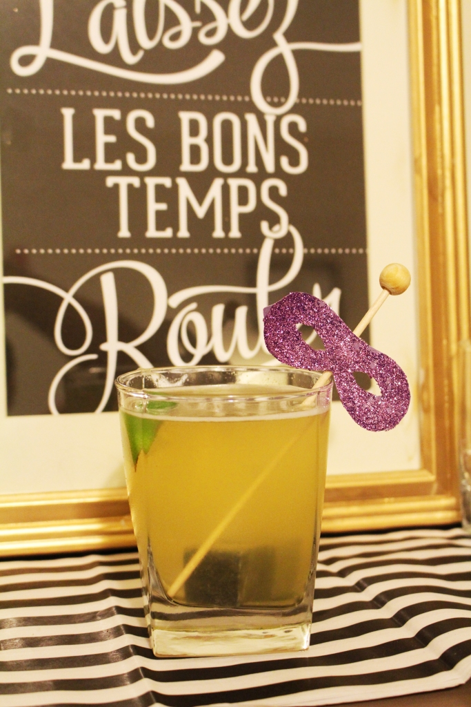 King Cake Cocktail by Ally Jean