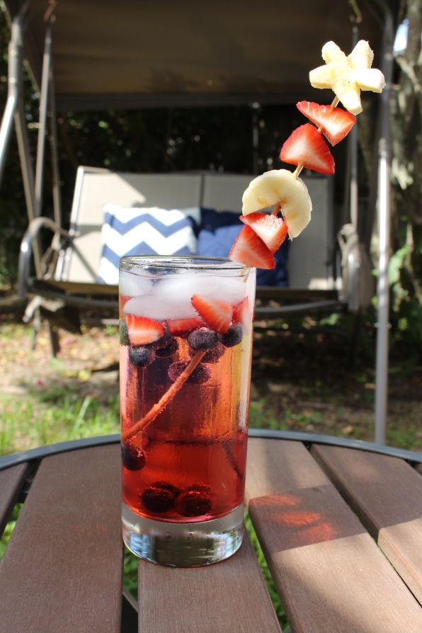 Fourth of July Kid-Friendly Mocktail