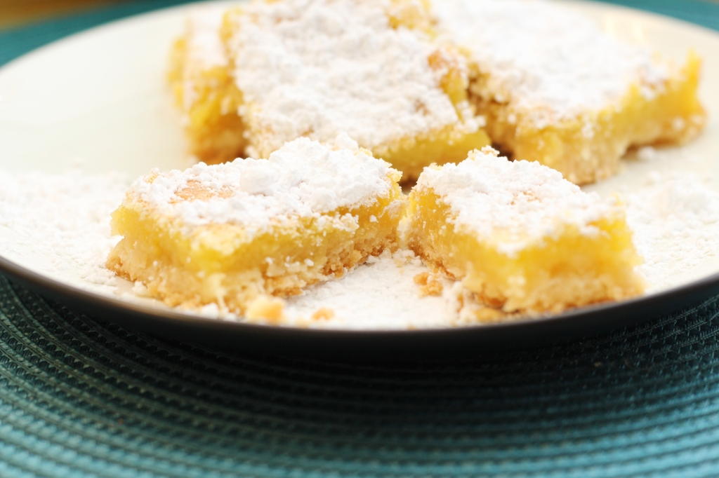 Sweet Summer Lemon Bars