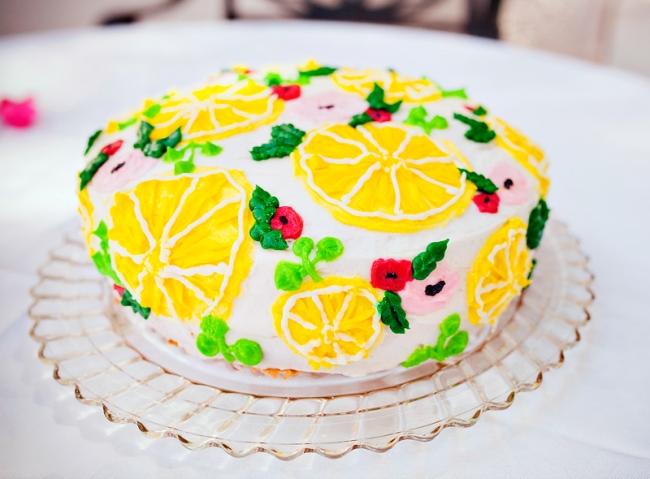 Girly Flamingos & Lemons Summer Birthday on Hostess with the Mostess